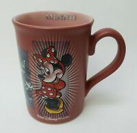 Minnie Mouse Coffee Mug Cup Disney Pink Plum
