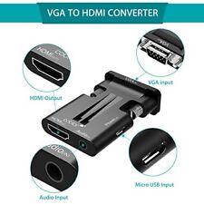 Câbles HDMI/VGA pour écran et équipement audio et vidéo