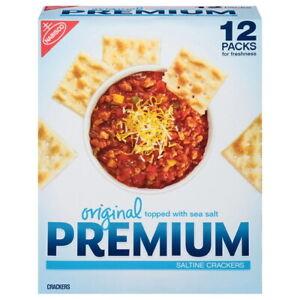Nabisco Original Premium Saltine Crackers (48 Oz) 2 PACK!! BEST DEAL!!