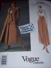 VOGUE #1524- DESIGNER MONTANA-LADIES WESTERN JACKET & CHAP PANTS PATTERN 12-16uc