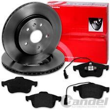 Brembo Bremsscheiben mit Bremsbeläge Alfa Giulietta Satz für hinten 278x12mm