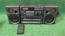 Panasonic RX-DT680 4-Speaker 4-Amplifier Power Drive System BoomBox w/Remote