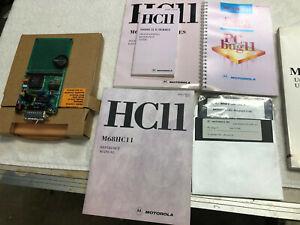 Motorola M68HC11EVBU Evaluation Board w/MC68HC11 Microcontroller w/Manuals