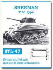 Friulmodel Metal Tracks for 1/35 US Sherman T51 Type (200 links)