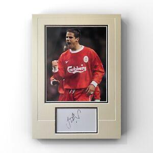 Jamie Redknapp - Liverpool Legend Signed Display