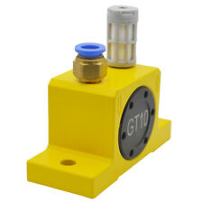 "G1/4"" Industrial Pneumatic Turbine Vibrators Golden GT-8 + Silencer + Connector"