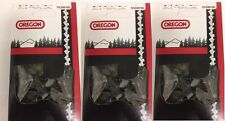 "3 Oregon 72LGX070G 20"" chisel chainsaw chain  3/8 .050 70 DL for CS 590 680 600P"