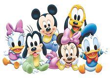 Cartel De Tela Disney bebés A3 repositional
