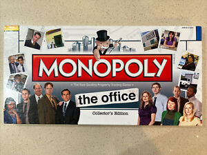 Monopoly The Office Collectors Edition 2010 house Used Complete