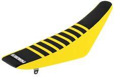 SUZUKI RMZ 250 2007 - 2009 Yellow Black Yellow Ribs Gripper Seat Cover Motocross