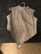 Absolute Fencing Gear Foil Lame Right- Handed Side Zip Women's Size 38