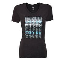 Can-Am X-Team Shirt T-Shirt Damen mit V-Ausschnitt ATV Quad Bekleidung Frau