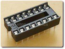 10x New 16 Pin DIL DIP IC Socket 8-14-18-20-24-28-32 Pin Available