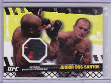 2010 Topps UFC Fight Mat Relics #FMJDS Junior dos Santos UFC 108