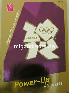 Adrenalyn XL London 2012 - #342 Olympic Games Emblem - Power-Up