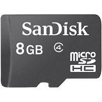 Lot 50 Pcs 8G Sandisk MicroSDHC Micro SD SDHC 8GB 8 G Memory Card Class 4 Bulk