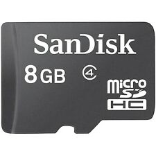 Lot 50 Pcs 8G Sandisk MicroSDHC Micro SD SDHC 8GB 8 G Memory Card Class 4 Bulk