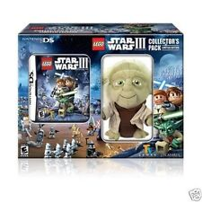 Nintendo DS LEGO Star Wars IIi The Clone Wars Collector's Pack with Yoda Plush
