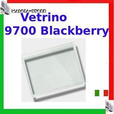 """VETRO x Display VETRINO BLACKBERRY 9700 Bold """"Bianco"""" Schermo Ricambio Nuovo"""