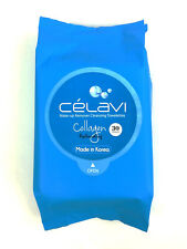 Celavi Make Up Remover Cleansing Facial Towelettes Collagen Wipe USA seller ship