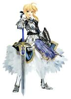 Used Fate/stay night Saber 1/8 PVC Figure Gift