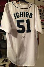 ICHIRO SUZUKI MLB SIGNED AUTHENTIC SEATTLE MARINERS JERSEY in person!!!!!!!