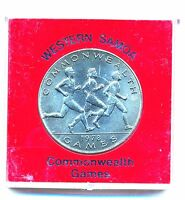 1978 Cased and Uncirculated Western Samoa - Commonwealth Games Coin