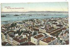 GIBRALTAR - CITY & COMMERCIAL MOLE 1909 Beanland Malin Postcard