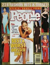 People Magazine - Best & Worst Dressed 2001