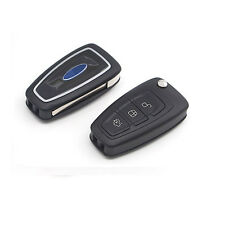 1X Car Remote Flip Keyless Shell Key Case 3 Buttons For Ford Mondeo Focus Fiesta