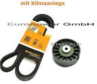 Keilrippenriemen+Spannrolle MERCEDES W202 / W124 / W210 / S124 / S210