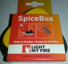 LIGHT MY FIRE FLOATING WATERPROOF 3 SPICE BOX GIRL BOY SCOUT CAMP COOK CAR BOAT