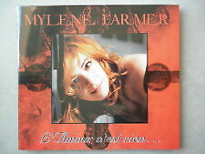Mylene Farmer cd single digipack L'amour N'est Rien