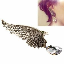 NEW Fashion Crystal Clip Ear Cuff Stud Women Punk Wrap Cartilage Earring Jewelry