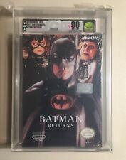 Batman Returns (Nintendo Entertainment System, 1993) NES VGA 90 GOLD