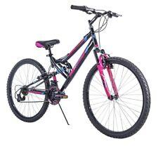 "26"" Huffy Trail Runner Womens / Girls Mountain Bike, Black Pink NIB Shimano"