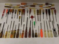 Screwdriver Lot Quantity 65! Vintage and Modern Hand Tools. Phillips & Flathead
