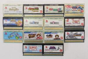 WonderSwan Bandai WS WS Color WSC Crystal Game Sold Individually Updated 9/9/21