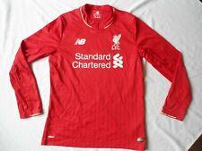 Liverpool Long Sleeved Football Shirt Size Small V.G.C