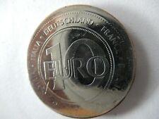 Europa 10 (Vor-) EURO 1999- Prägung nicht auf Ronde zentriert