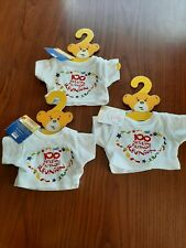 New Build a Bear Clothes 100 Million Friends Reunion T-Shirt 3 New With Tags