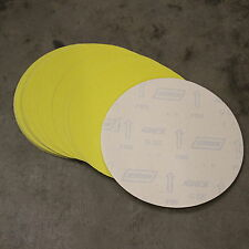 """20 NORTON 250MM / 10"""" SELF ADHESIVE STICKY BACKED SANDING DISCS 120G"""