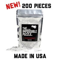 NEW AND IMPROVED! Quarantine Clear Acrylic Impossible Puzzle 200 Pieces! Hard!