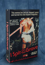 I Spit on Your Grave Big Box VHS 1978 - Wizard Video - Directed by Meir Zarchi