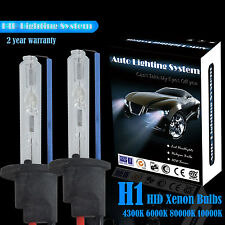 2x 55W H1 HID Xenon Conversion kit replacement xenon bulb 8000k High or Low Beam