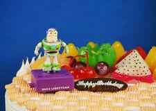 Disney Toy Story Buzz Lightyear Movable Toy Model Figure Cake Topper K1215 F