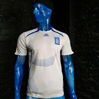 Greece Team Jersey Home football shirt 2007 - 2008 Adidas 740222 Mens Size S