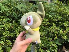 """Original Takara Tomy Pokemon Plush Stuffed Toy Doll 7"""" Axew New"""