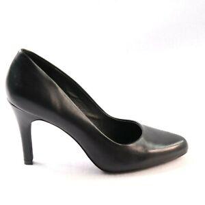 Wittner Size 38 Black High Heel Pump 'Hardwyn' Formal Corporate Party