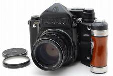 【Exc++++】Pentax 6x7 67 TTL Mup Medium Format w/SMC T 105mm F2.4,Grip,from JAPAN